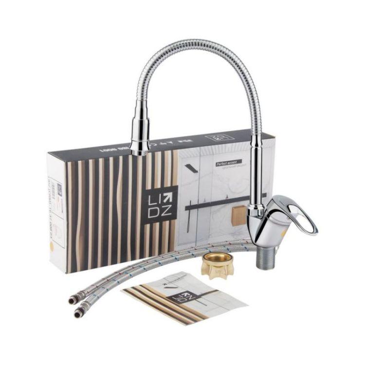 Змішувач для кухонного миття Lidz (CRM)-16 37 008 04 - 6