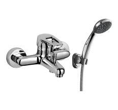 NARCIZ змішувач для ванни одноважільний, хром 40мм