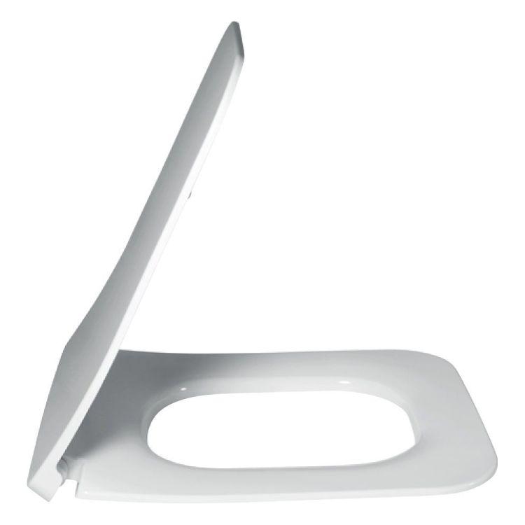 VERITY LINE SlimSeat Line сидіння з кришкою на унітаз, QuickRelease і SoftClosing, білий альпін - 2