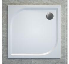 TRACY піддон квадратний 90х90 см, білий