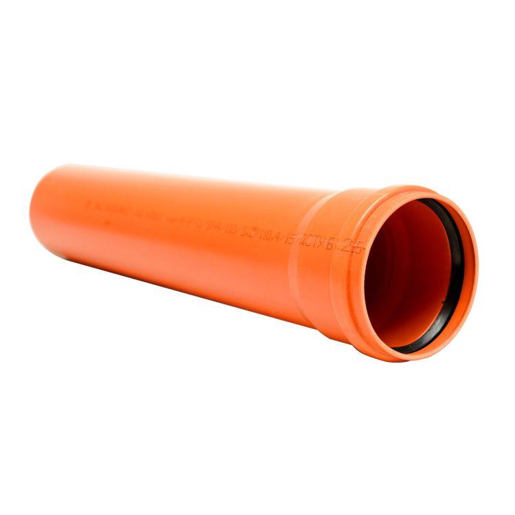 Труба Інсталпласт ПВХ 200х4,9х3000 - 1