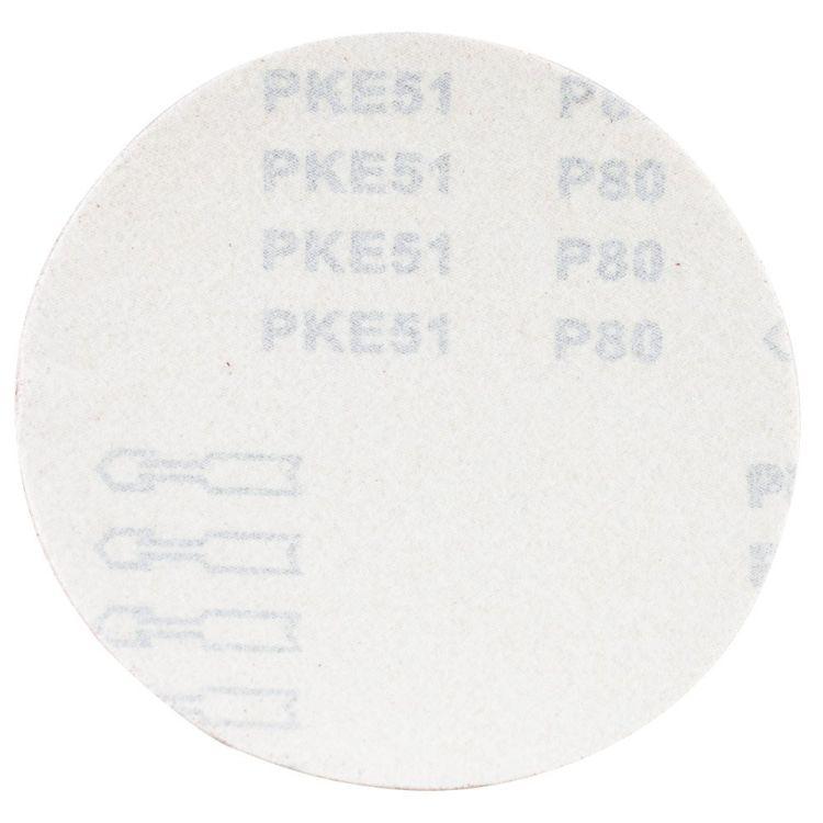 Шлифовальный круг без отверстий Ø150мм P80 (10шт) Sigma (9121351) - 2