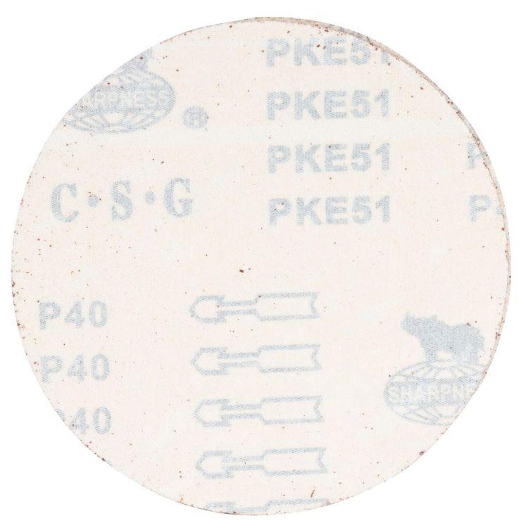 Шлифовальный круг без отверстий Ø150мм P40 (10шт) Sigma (9121331) - 2