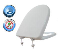 Сидіння д\унітаза СУА-5Д (в індивідуальній коробці) з мікроліфтом
