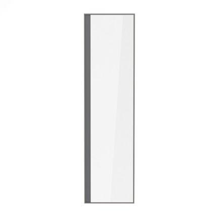 Пенал 150*40*35см, підвісний, з дзеркалом, капучино (меблі під умивальник VERITY LINE) - 2