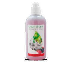 """Гель для миття посуду Clean drops """"Лісові ягоди"""" 0,5л"""