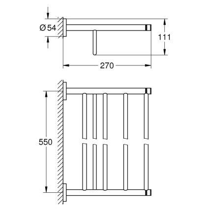 Тримач Grohe Essentials 40800001 - 2