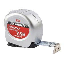 Рулетка Magnetic 7.5 м х 25 мм, магнитный зацеп, MTX