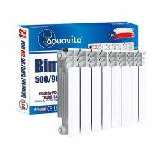Секция радиатора биметаллического AQUAVITA 500/100 D7, 30 бар