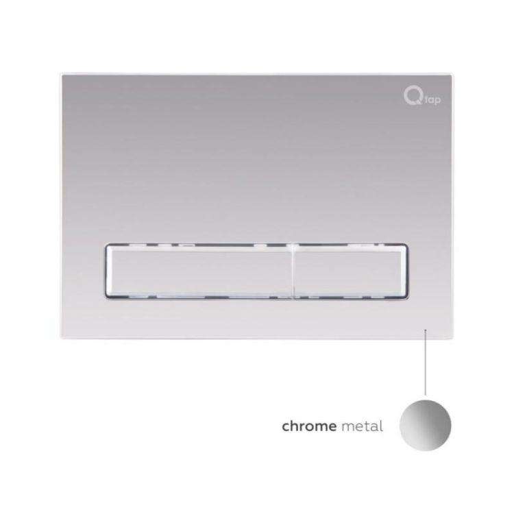 Комплект Qtap інсталяція Nest QTNESTM425M08CRM + унітаз з сидінням Jay QT07335176W + набір для гігієнічного душу зі змішувачем Form QTFORMCRM001AB - 9