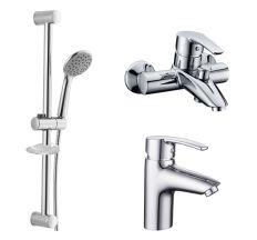 Набір змішувачів для ванни Imprese HORAK 05170+10170+штанга R670SD+1115+W100SL1C