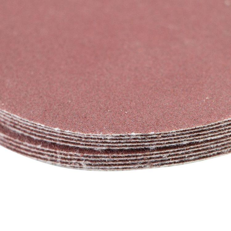Шлифовальный круг без отверстий Ø75мм P180 (10шт) Sigma (9120691) - 4