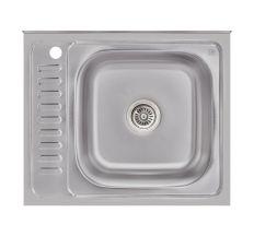 Кухонна мийка Lidz 6050-R Satin 0,6 мм (LIDZ6050R06SAT)