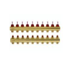Колектор з витратомірами Danfoss FHF на 10 виходів (088U0530)