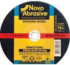 Круг Novoabrasive шлифовальный ф230*6 WG23060