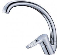 Смеситель для ванны Zegor BT6-JIK7-A101 гусак круглый