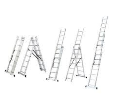 Сходи розкладні універсальна 9 сходинок FLORA (5032334)