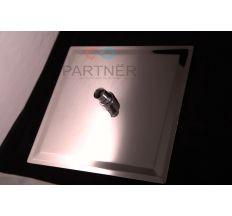 Лейка стельво квадратная силикон Ultra Slim 250 мм 0000000811