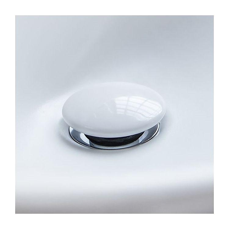 Villeroy & Boch Донный клапан для умывальника керамический, белый - 2