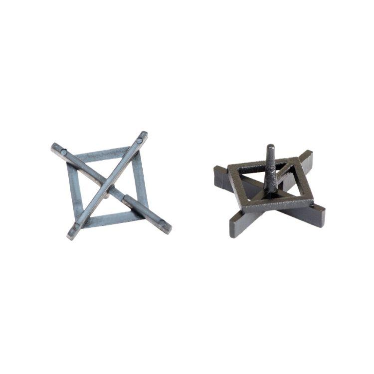 Крестик дистанционный (многоразовый) для плитки 2,5мм 100шт Sigma (8241231) - 1