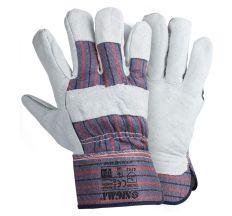 Замшеві рукавички комбіновані (цілісна долоню) Sigma (9448361)