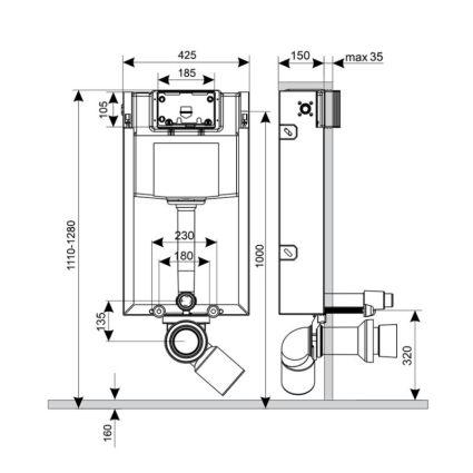 Інсталяція Q-tap Nest M425 ST - 2