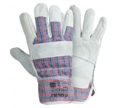 Замшеві рукавички комбіновані Sigma (9448321)