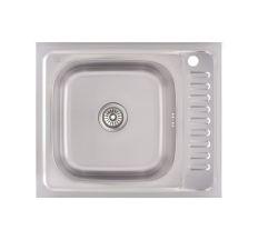Кухонна мийка Lidz 6050-L Decor 0,6 мм (LIDZ6050L06DEC)