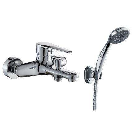 TULIP змішувач для ванни одноважільний, хром 35 мм - 1