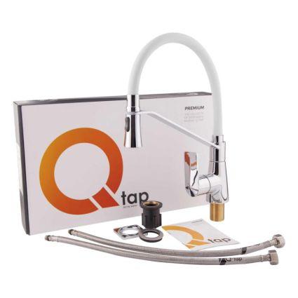 Змішувач для кухонного миття Q-tap Estet CRW 007F - 6
