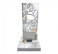Декоративная ажурная перегородка, каменная Solid surface 800*12*2200mm