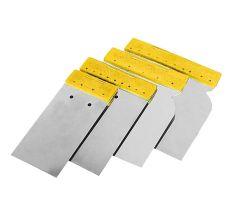 Набір шпателів без рукоятки (нержавіючих) 50, 80, 100, 120 мм Sigma (8321571)