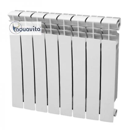 Секція біметалічного радіатора AQUAVITA 500/80 D10, 30 бар - 2