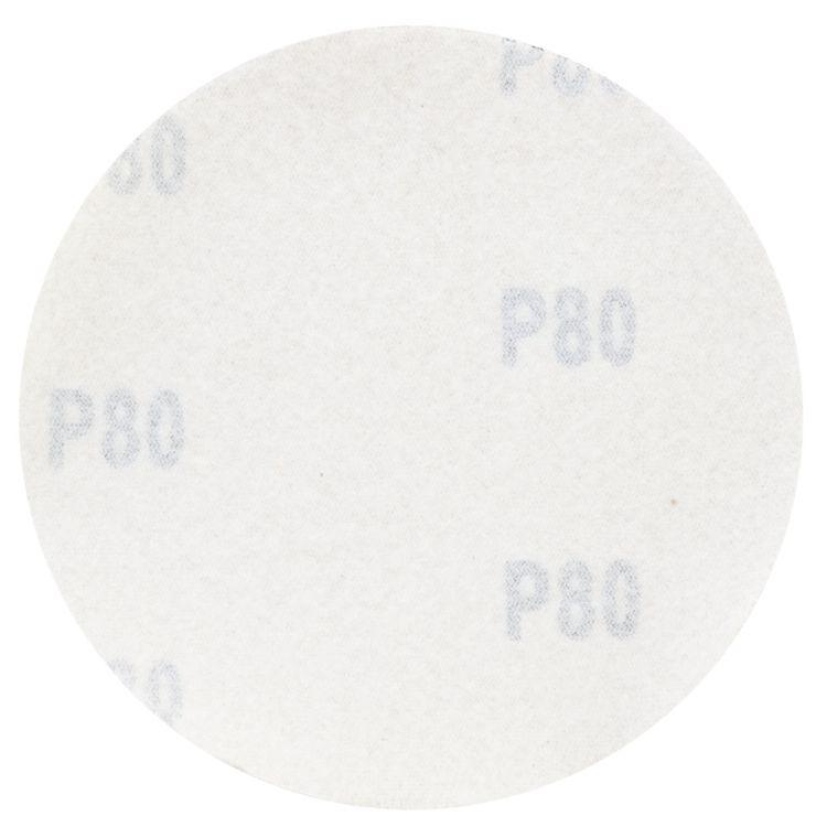 Шлифовальный круг без отверстий Ø125мм Gold P80 (10шт) Sigma (9120051) - 2