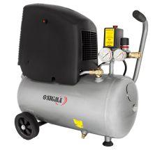 Компресор одноциліндровий безмасляний 1.8 кВт 245л/хв 8бар 24л Sigma (7042121)
