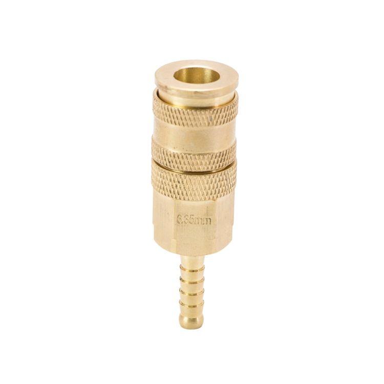 Соединение быстросъемное усиленное с фиксатором для шланга 6мм (латунь) Sigma (7021671) - 2