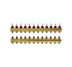Колектор з витратомірами Danfoss FHF на 12 виходів (088U0532)