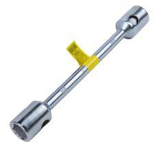 Ключ балонний посилений 32×33×400 мм CrV satine Sigma (6032161)