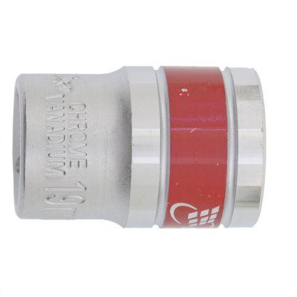Головка торцева, 19 мм, 12-гранна, CrV, хромована MTX MASTER 136919 - 1