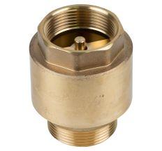 "Клапан зворотний M1 1/2""xF1 1/2"" (латунь) euro 680г AQUATICA (779659)"