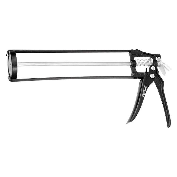"""Пістолет для герметика, 310 мл, """"скелетний"""" посилений з фіксатором, 6-гранний шт.ок 6 мм SPARTA 8861 - 1"""