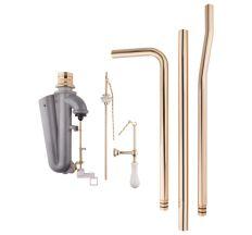 Комплект - набірної/зливний механізми Azzurra Charme B1900TO з трубами для високого бачка Золото