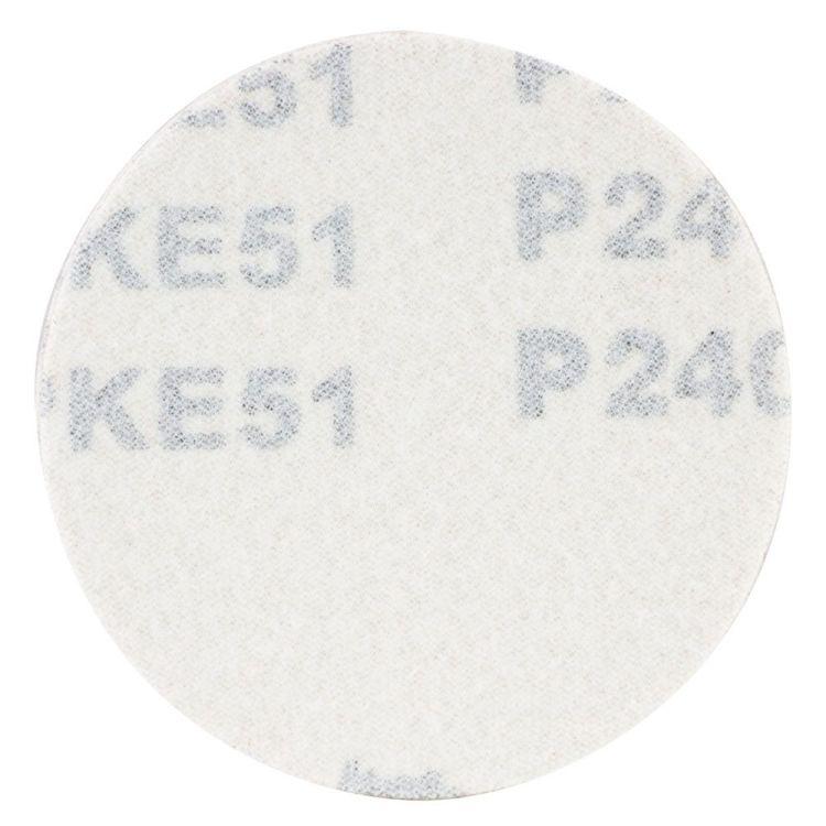 Шлифовальный круг без отверстий Ø75мм P240 (10шт) Sigma (9120711) - 2