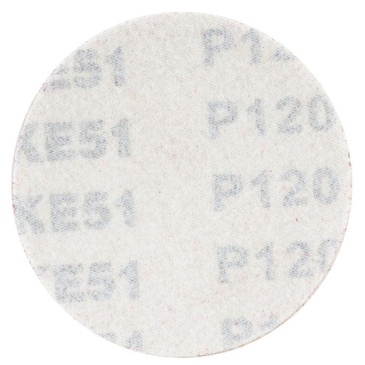 Шлифовальный круг без отверстий Ø75мм P120 (10шт) Sigma (9120671) - 2