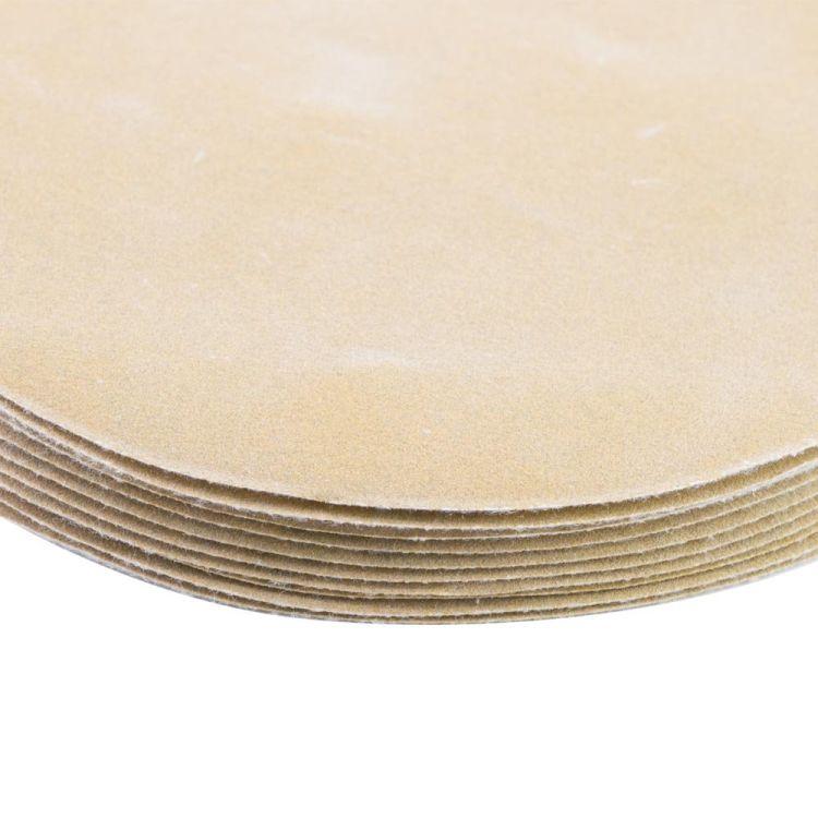 Шлифовальный круг без отверстий Ø125мм Gold P320 (10шт) Sigma (9120131) - 4