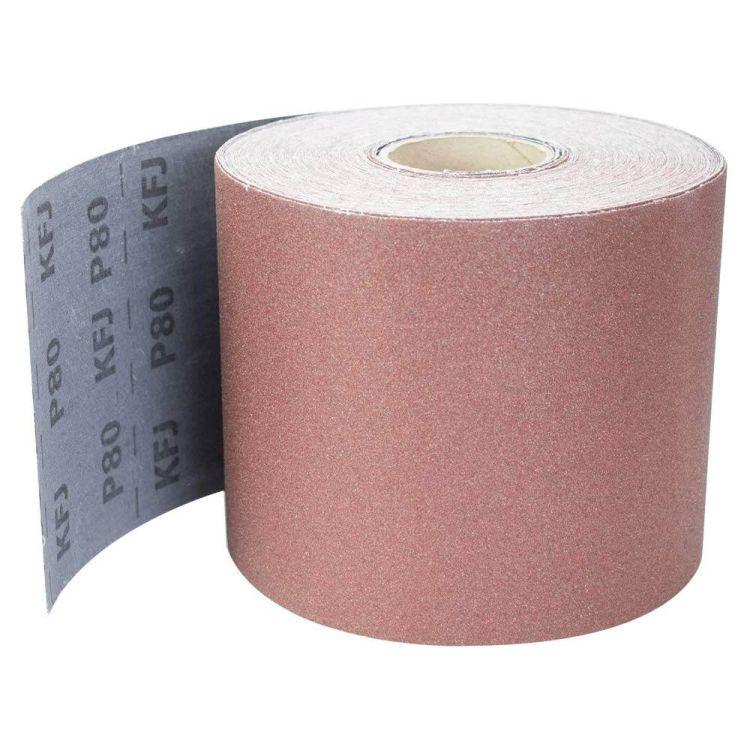 Шлифовальная шкурка тканевая рулон 200ммх50м P80 Sigma (9112651) - 1