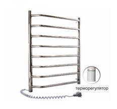 Електрична рушникосушка SANTAN драбина Блюз 480х800 нерж, термореле, лев