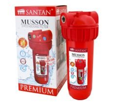 """Фільтр для очищення води SANTAN Musson 3PS, 1 """" гаряча вода(корпус + кріплення і ключ)"""