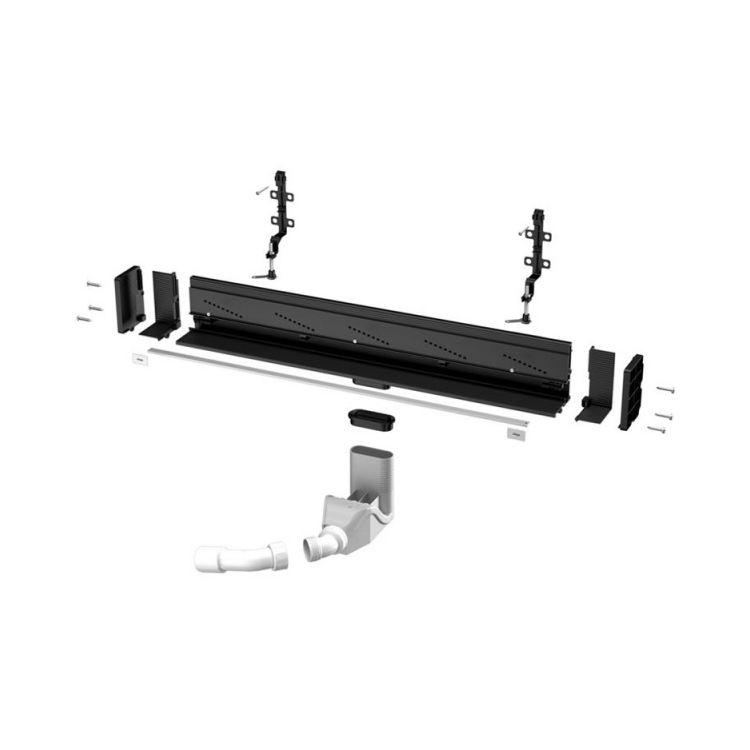 Душевой лоток Advantix Wall drain Vario высота 70мм, 300-1200мм, (736736) - 2