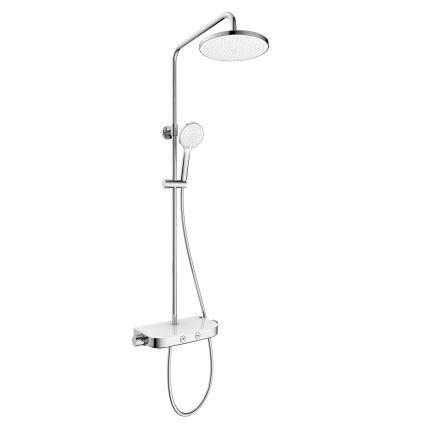 CENTRUM W система душова (змішувач-термостат для душу, верхній та ручний душ 3 режими, шланг) - 1